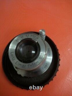 LEICA Leitz Elmar 5cm 50mm F/3.5 L39 Screw Mount Lens