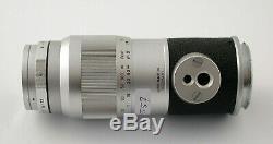 LEICA Leitz Elmar M 4/135 135 135mm F4 4 top + hood M3 M6 M10 MP M7 M4 M9 /20