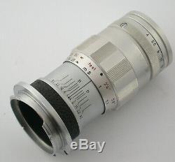 LEICA Leitz M 3-element Elmar 4/90 90 90mm F4 4 1936265 1962