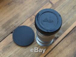LEICA M 90mm f4 Elmar Lens- M MOUNT Leitz Wetzlar