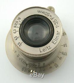 LEICA OLIGO Leitz single exposure device Einzelbild-Gerät Nickel Elmar 50 casset
