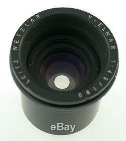 LEICA V-Elmar 4.5/100 100 mm F 4,5 6x9 prime enlarging lens Focomat IIc Leitz
