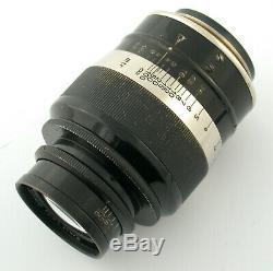 LEICA fat Fett Elmar 4/90 90 90mm F4 4 LTM 135622 Leitz 1932 ELANG only 1931/32