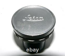 LEITZ CANADA LEICA ELMAR 65mm f/3.5 MACRO LENS CHROME WithCAP