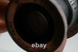 LEITZ ELMAR 5cm f3.5 m39 screw mount a vite vintage obiettivo lens 50mm leica