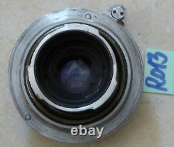 LEITZ ELMAR OBJEKTIV 5cm 13,5 chrom M39, versenkbar (R013)