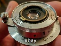 LEITZ Elmar Leica Coated SM 3.5cm f3.5 #653775 ll