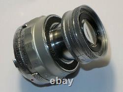LEITZ Leica M Elmar 9 cm 14 Collapsible # 1236548. From 1955