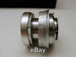 Leica 11112 D Leitz Leica Elmar- M 2.8/50mm 1a Sammlerstück boxed TOP