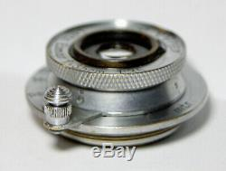 Leica 3.5cm F/3.5 Elmar Leitz 35mm LTM Screw Mount Germany with Issues READ