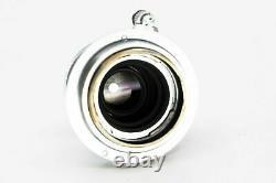 Leica 5cm 50mm 3.5 m39 ltm mount elmar 1198535 serial 1954 red scale f22