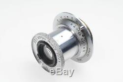 Leica 5cm (50mm) f3.5 Leitz Elmar Collapsible LTM M39 Lens #922