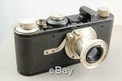 Leica Camera Model 1 No. 22852 & Leitz Elmar 50mm f3.5 Lens, very nice