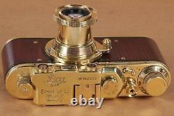 Leica D. R. P. Vintage Camera rangefinder Film Lens Leitz Elmar 50mm (zorki copy)