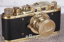 Leica D. R. P camera Leitz Elmar lens 13.5 (Fed Zorki copy) Limited Edition