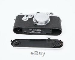 Leica DBP Ernst Leitz GMBH Wetzlar Camera with Leitz Elmar f=5cm 13.5 Lens
