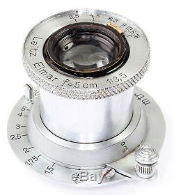 Leica E39 lens Leitz Elmar f=5cm 13,5 No. 232311 GERMANY (Bj. Ca. 1935) ORIGINAL