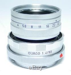 Leica ELMAR 4/90 + Leitz OUAGO 14/90 Traum Zustand! Objektiv ff-shop24