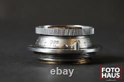 Leica Elmar 3,5cm 35mm f/3,5 Ernst Leitz Wetzlar No 652607 1946 M39 LTM