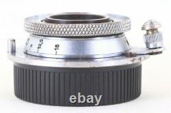Leica Elmar 35mm 3.5cm F/3.5 Lens LTM L39 LEITZ from Japan 245122 AS-IS