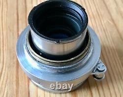 Leica Elmar 50mm f2.8 L39 Screw Fitting Collapsible Lens Leitz 1958