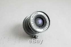 Leica Elmar 5cm 50mm f/2.8 LTM M39 L39 Leitz Wetzlar