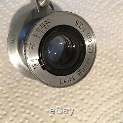 Leica Elmar 5cm F/3.5 50mm. S. Nr. 802020. Elmar Type I