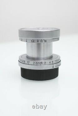 Leica Elmar LTM 50mm f2.8 lens Leitz screw mount