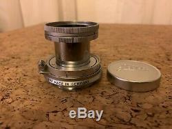 Leica Elmar-M 50 mm f/2.8 Leitz Elmar wunderschöner Zustand! 15 Lamellen