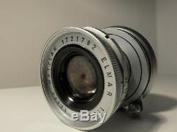 Leica Elmar M Leitz Wetzlar 50mm F/2.8 Collapsible M mount Chrome