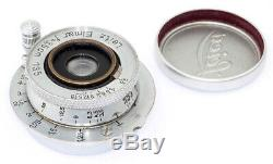 Leica Elmar f=3,5cm 13,5 Nr. 138639 Leitz COMPLETE & TOP original CONDITION