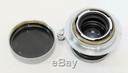 Leica Ernst Leitz 5cm f/3.5 Elmar Collapsable LTM Lens MUST READ! (7297)