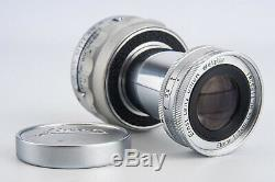 Leica Ernst Leitz GmbH Wetzlar Elmar 9cm 90mm f/4 Collapsible Lens M Mount V19