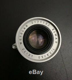 Leica Ernst Leitz Wetzlar Elmar 50mm F/2.8 12.8/50 VTG Prime Lens EXC++ Read