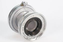 Leica Ernst Leitz Wetzlar Elmar 5cm 12.8 Objektiv M39-mount
