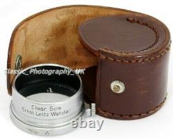 Leica FISON A36 Clamp-On Lens Hood for LEITZ Elmar f=5cm by Ernst LEITZ Wetzlar