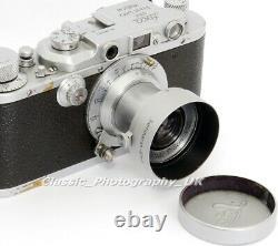 Leica FOOKH 12505 Summaron-Elmar 3.5cm fit Lens Hood by LEITZ Wetzlar + A42 Cap