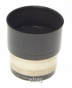 Leica Fikus Black Paint Lens Hood Shade Hektor 5 Elmar Rare Collapsible Nickel