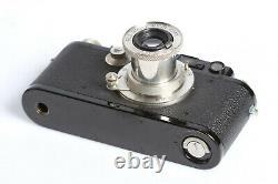 Leica I black / nickel + Leitz Elmar 3,5/5cm Nickel Lens
