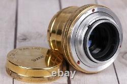 Leica II D Berlin 1936 Camera With lens Leitz Elmar + Sonnar Carl Zeiss Lens