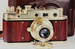 Leica II D Berlin Olympiada 1936 Camera lens Leitz Elmar, f = 5, 13.5 Camera