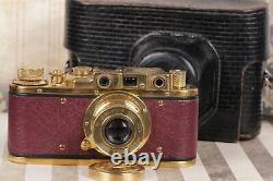 Leica-II D Olympics Berlin 1936 Leitz Elmar lens 35mm Art Camera /Fully working