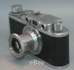 Leica II (D) Rangefinder #324832 with Leitz 50mm f3.5 Elmar lens -Nice Cla'd Ex++