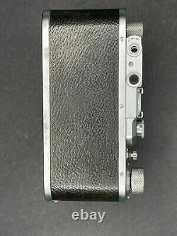 Leica II camera and Elmar 5cm Lens Made By Ernst Leitz Wetzlar (1939)