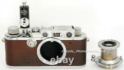 Leica III 35mm Rangefinder Made by LEITZ 1934 + Elmar f=5cm 13.5 Lens 1936