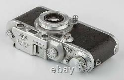Leica III a chrom Baujahr 1936 + Leitz Elmar 3,5/5cm SHP 66030