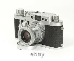 Leica IIIG LTM Rangefinder M39 No. 892492 with Lens Leitz Elmar 2.8/50mm Boxed