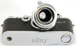 Leica IIIc 35mm Rangefinder Made by LEITZ in 1950 + Elmar f=5cm 13.5 Lens