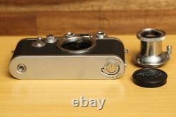 Leica IIIf (Red Dial Self Timer) Leitz Elmar 5cm f3.5 Lens