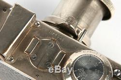 Leica Ia Camera Polished Chrome Camera S/N1636 + Leitz Elmar 50mm f3.5 Lens